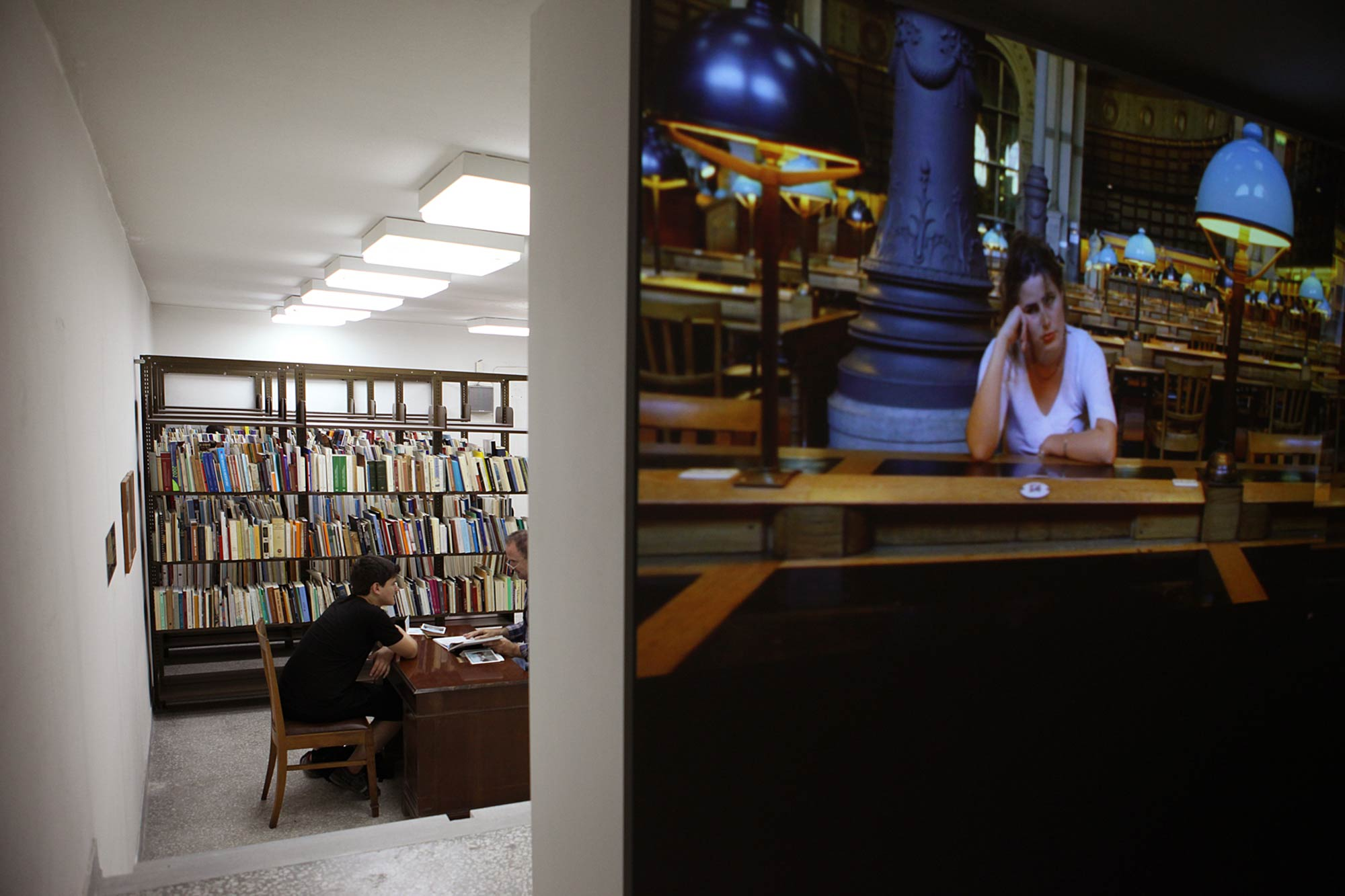 Installation View | A THOUSAND DOORS | Gennadius Library | Photo Natalia Tsoukala | NEON & Whitechapel Gallery