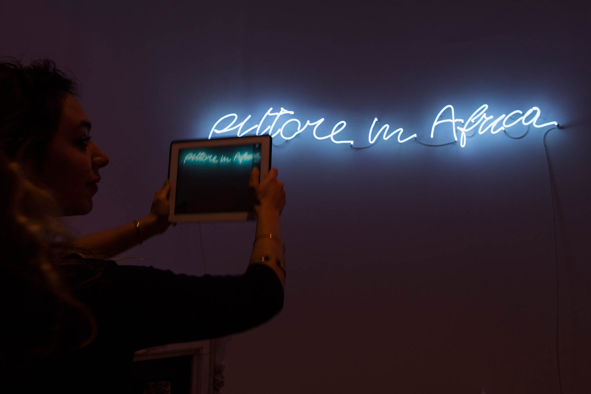 Exhibition Opening | MARIO MERZ | Numbers are Prehistoric | Photo Natalia Tsoukala | Courtesy NEON