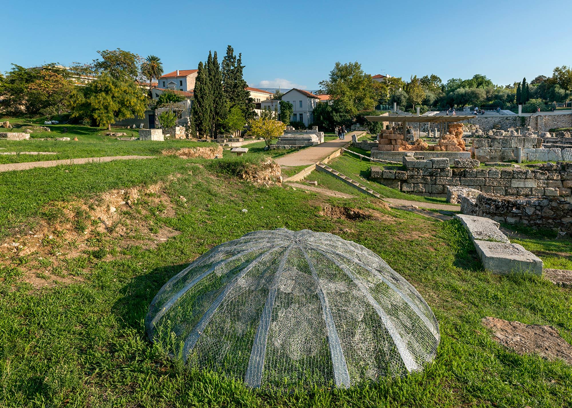 Installation View | CITY PROJECT 2015 | A TRANSFER | MARIA LOIZIDOU | Photo Panos Kokkinias | Courtesy NEON