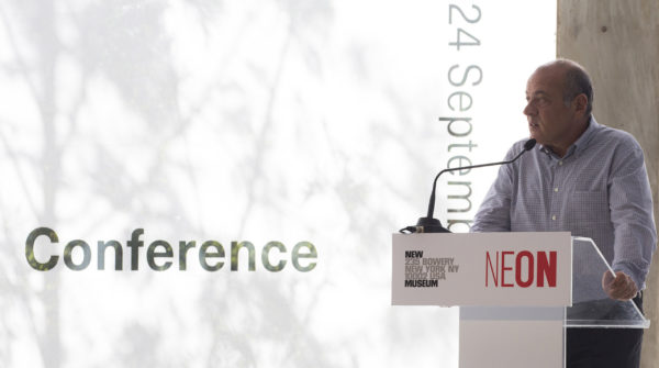 Dimitris Daskalopoulos at the Public Conference | IdeasCity Athens | Athens Conservatoire | Photographer Natalia Tsoukala